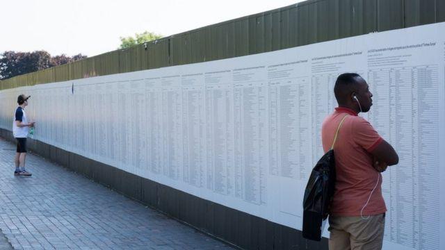 فهرست نام بیش از سی هزار پناهجو