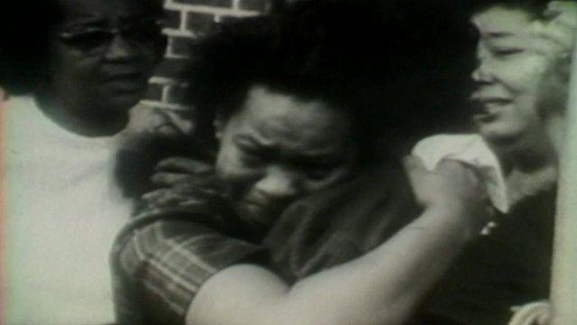 Alabama bomb victim's hugging