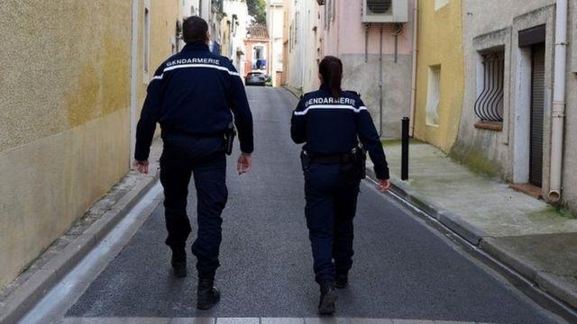 صورة لأفراد من قوات الأمن