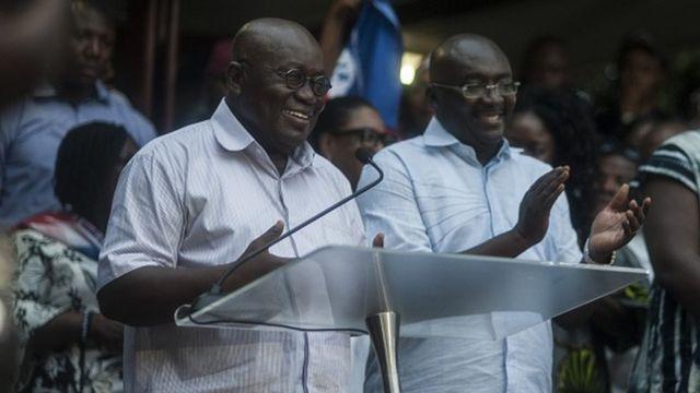 ghana, présidentielle
