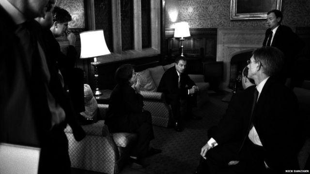 Тони Блэр и советники