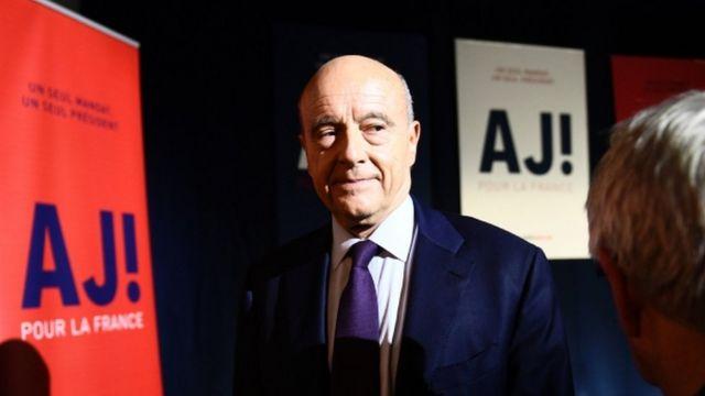 Alain Juppe, 20 November