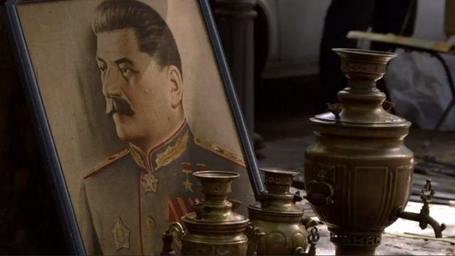 Dibujo de Stalin