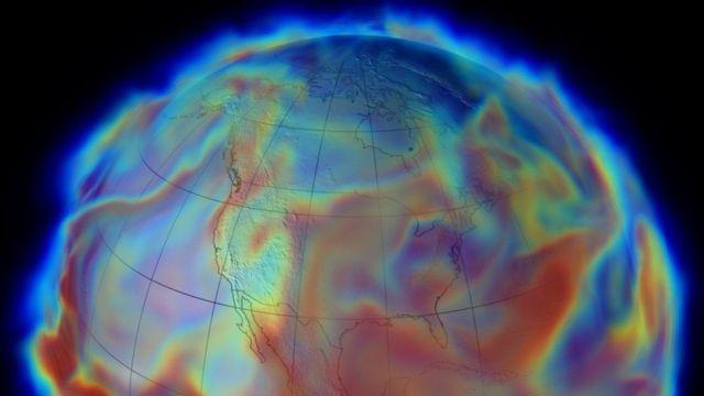 مناخ كوكب الأرض.