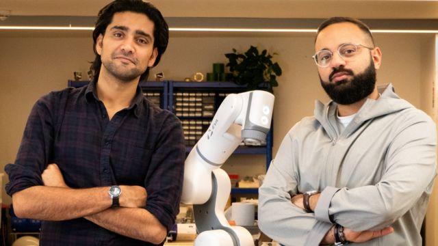 Les fondateurs d'Automata, Suryansh Chandra et Mostafa Elsayed