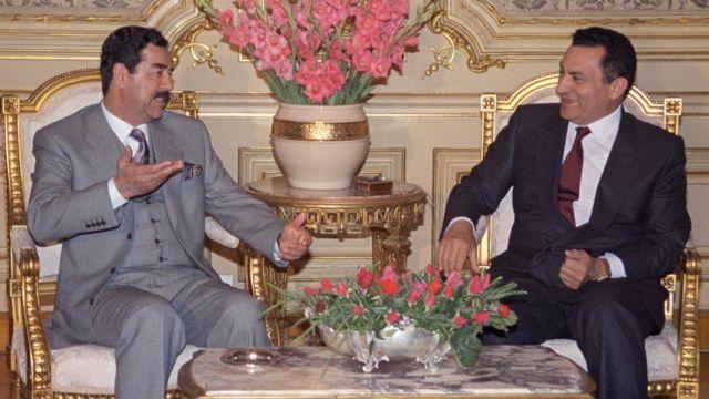 Мубарака та Саддам