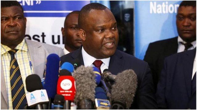 Corneille Nangaa, le président de la commission électorale congolaise