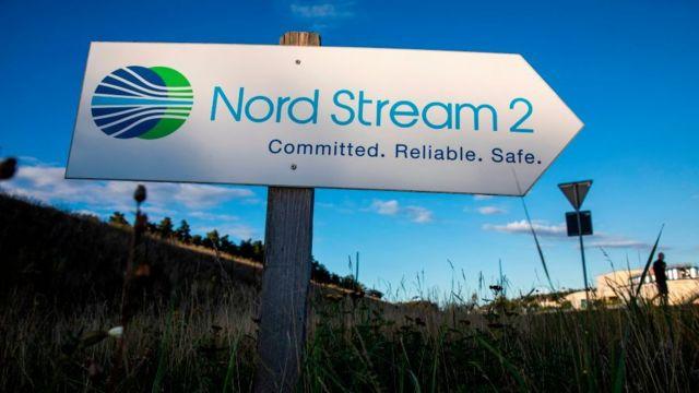 Publicidad del Nord Stream 2.