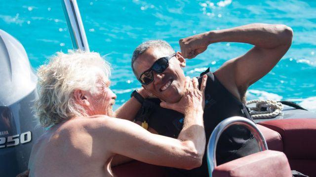 Obama və Branson