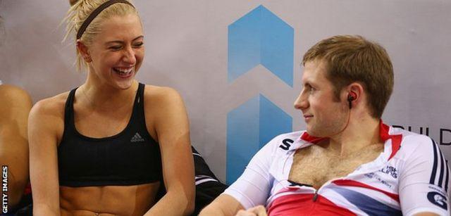Laura Trott e Jason Kenny