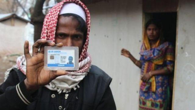 ভারতে প্রায় ৪০ হাজার রোহিঙ্গা শরণার্থী বসবাস করছে