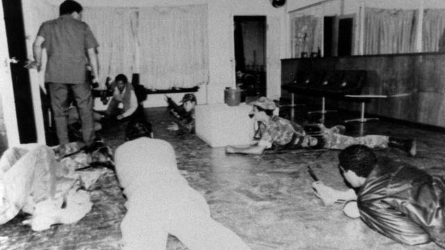 Imagen de archivo del golpe de 1992