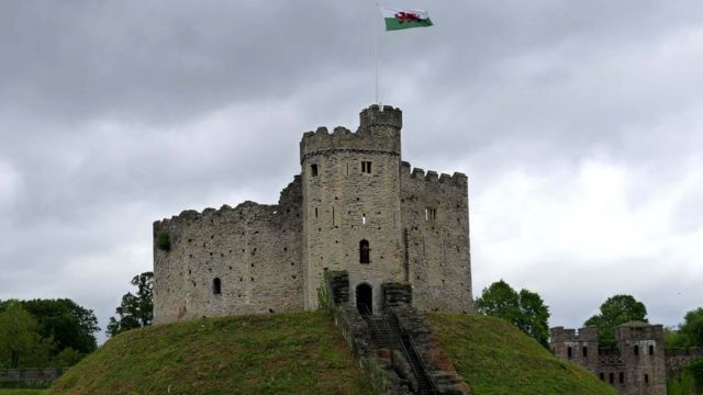Stolen Cardiff Castle stones for sale on eBay