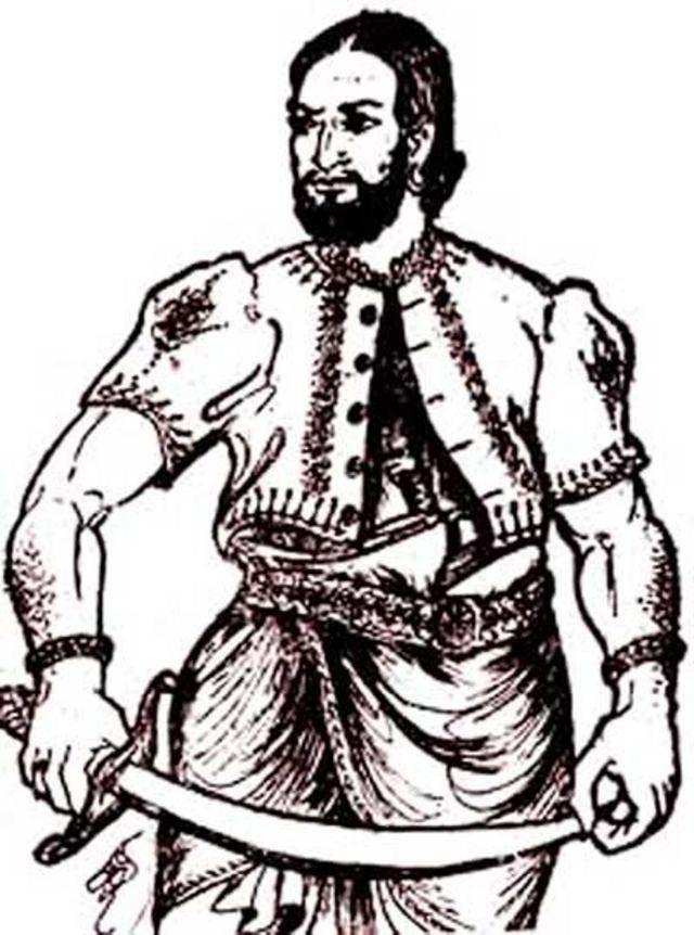 கேப்பெட்டிபோல எனும் போர் வீரரின் படம்