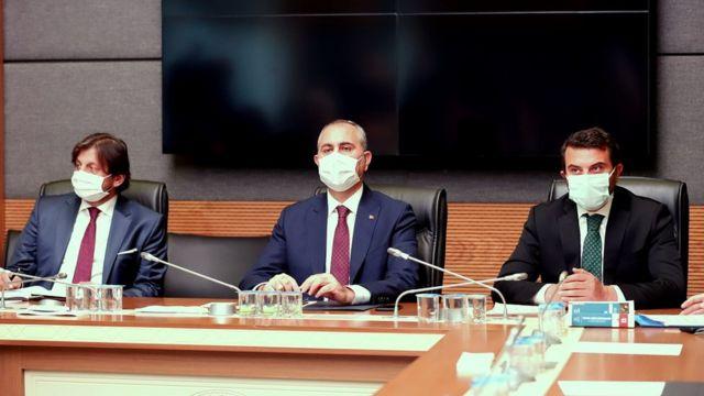 Adalet Bakanı Gül, TBMM Adalet ve İnsan Hakları Komisyonu üyelerinin görüşlerini aldı