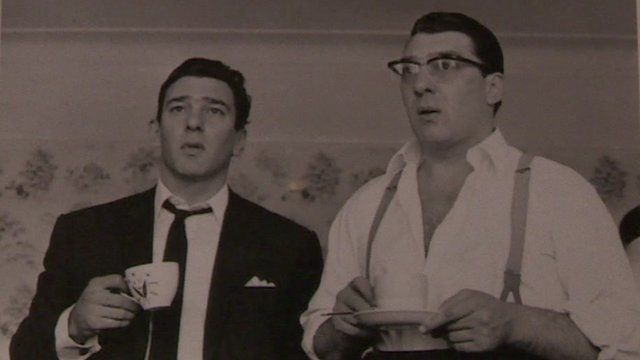 The Kray twins - Ronnie and Reggie