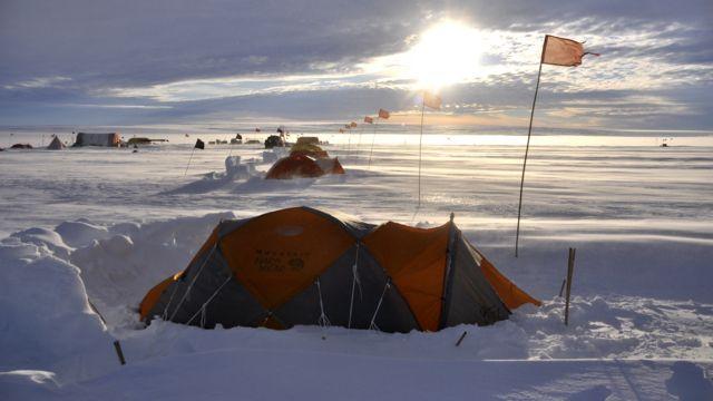 Ekstremno kampovanje na Antarktiku