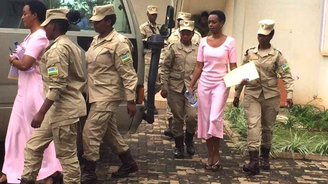 Diane Rwigara yatawe muri yombi nyuma y'amatora y'umwaka ushize