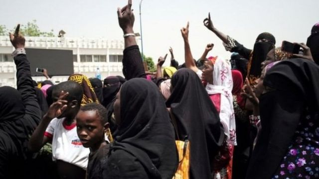 Masu zanga-zanga a Mali