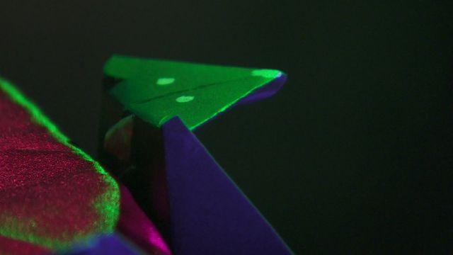 Origami bat made by Ayshah