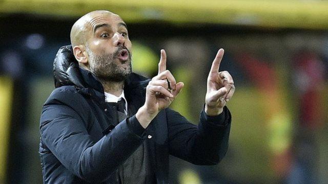 Kocin Manchester City Pep Guardiola