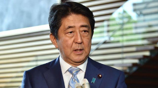 Shinzo Abe, primer ministro de Japón