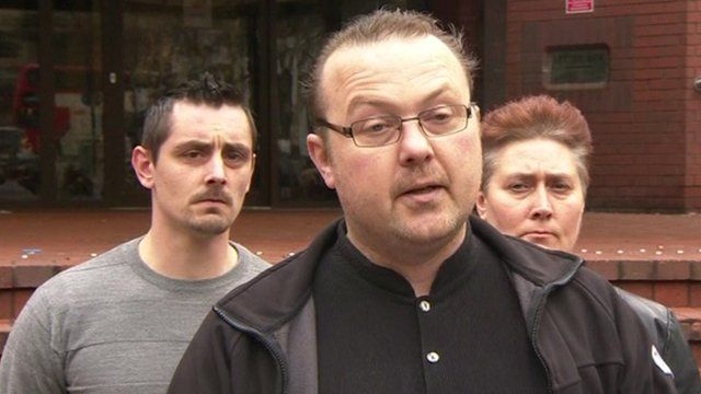Family spokesman Robert Wade