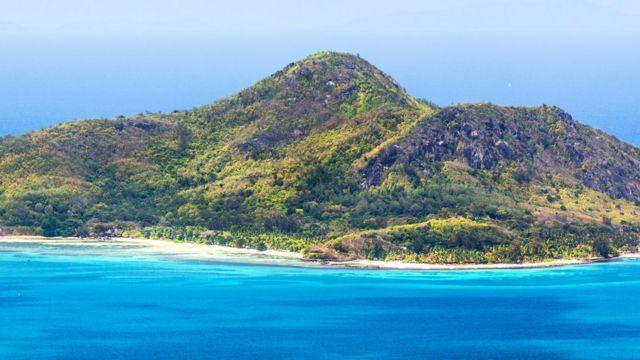 Один из Сейшельских островов