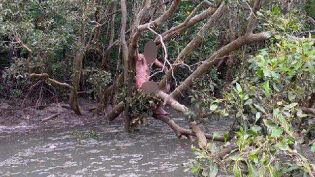 Беглец, найденные двумя рыбаками
