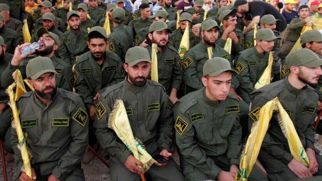 مسلحو حزب الله
