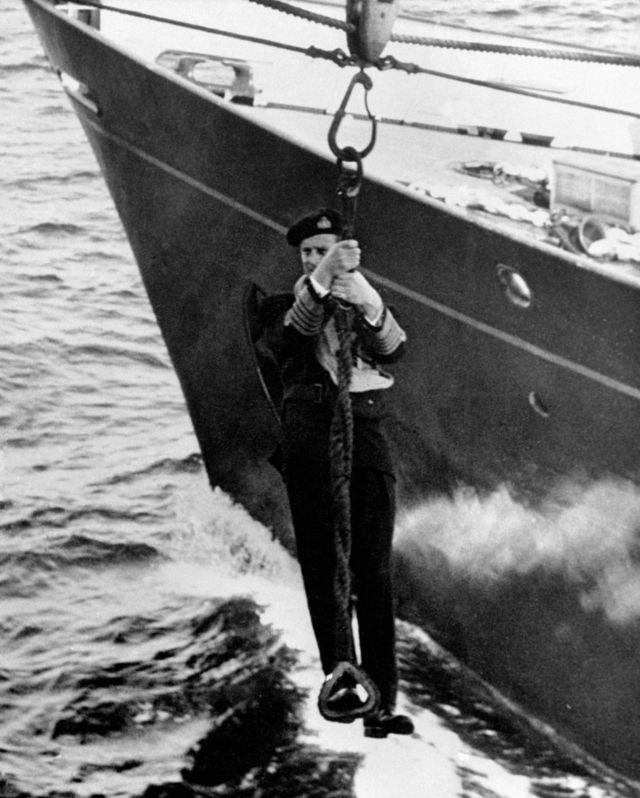 Prince Philip became one of the youngest lieutenants in the British Royal Navy.