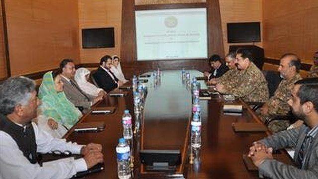 पाकिस्तान में बैठक