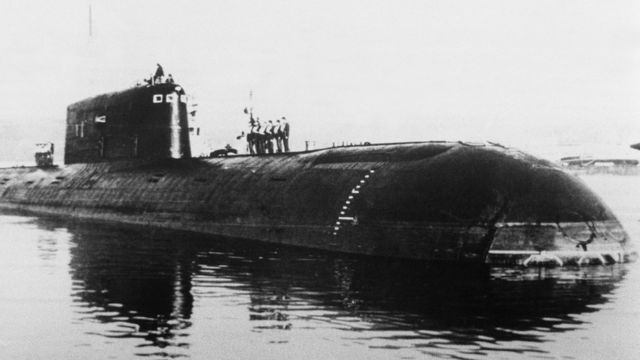 Sovyet nükleer denizaltısı