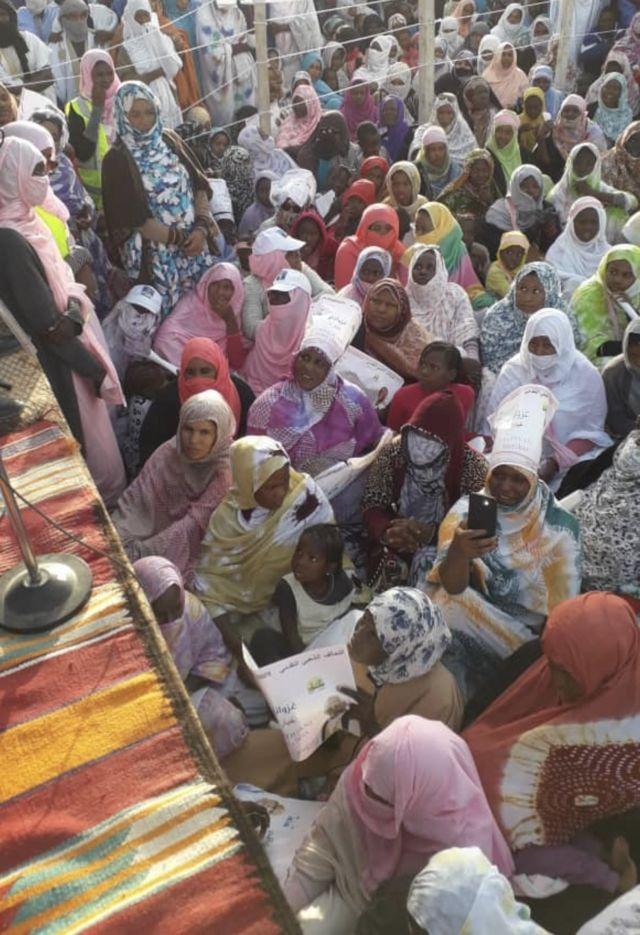 الحملة الانتخابية في موريتانيا