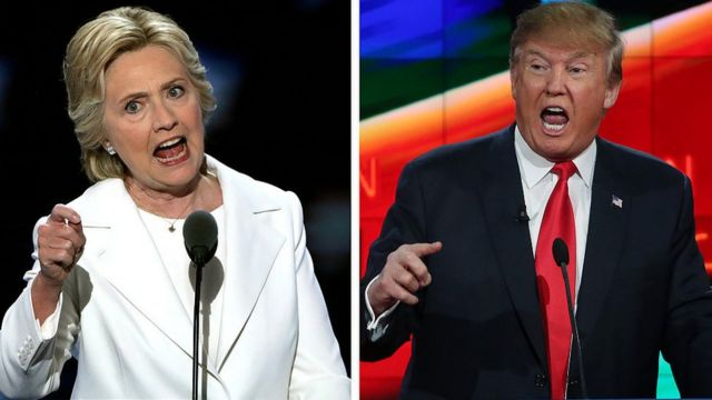 Hillary Clinton və Donald Trump