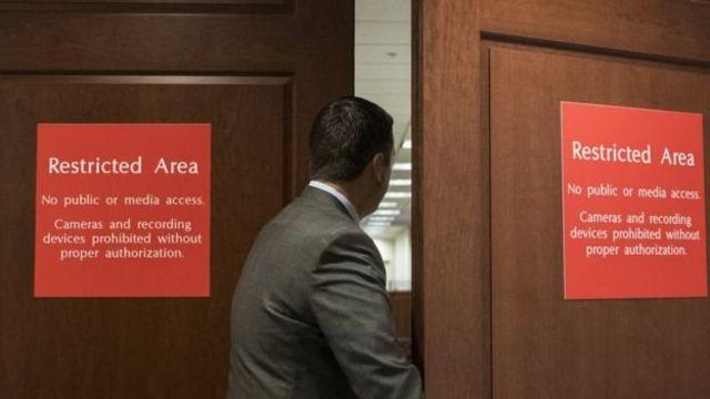 El memorando del congresista Devin Nunes se había mantenido en secreto.