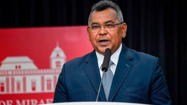 Ministro del Interior de Venezuela, Néstor Reverol.