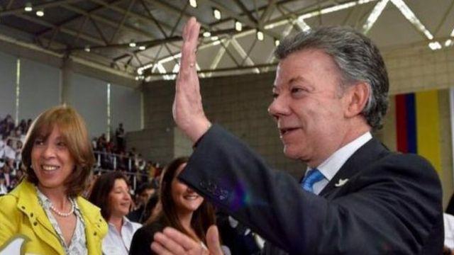 """""""Francamente es lo más claro y lo más sencillo que hemos podido hacer"""", dijo el presidente de Colombia, Juan Manuel Santos."""