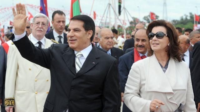 Zine El Abidine Ben Ali, président de la Tunisie