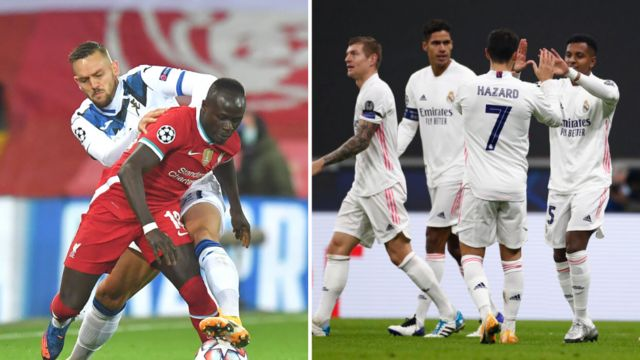 UEFA Champions League 20/21 - Matchday Five - Tuesday