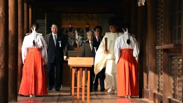 日本の保守系政治家による靖国参拝は中国などの反発を招いている