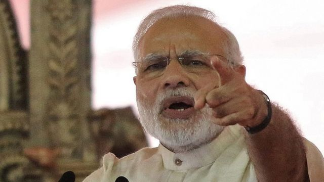भारतीय प्रधानमंत्री नरेंद्र मोदी