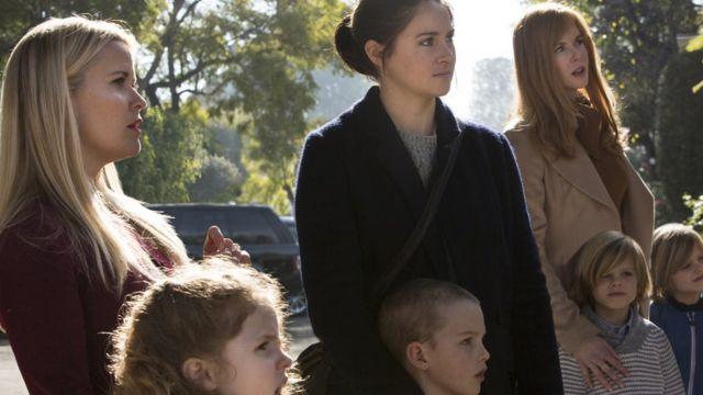 Resse Witherspoon, Shailene Woodley y Nicole Kidman