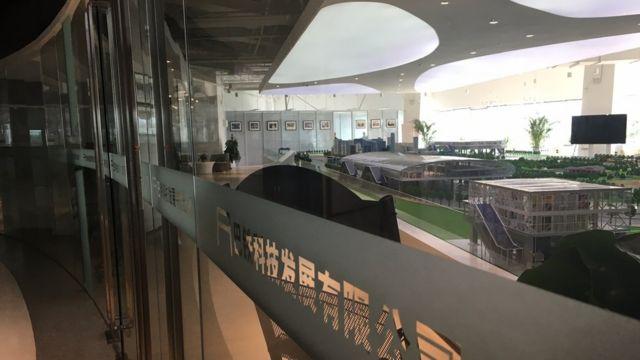 Sala de exposición del TEB.