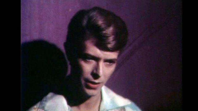 David Bowie in Glasgow, 1978