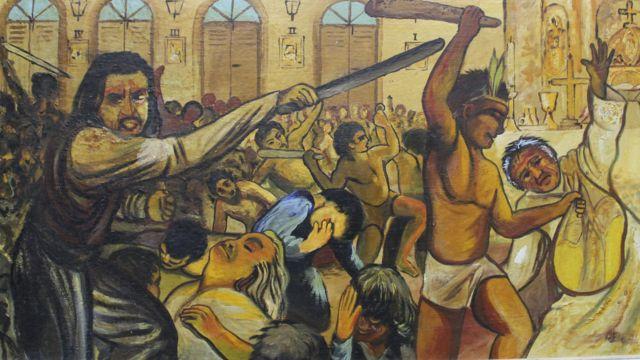 Massacre em capela religiosa de Cunhaú, no Rio Grande do Norte: Os mortos identificados serão declarados santos neste domingo