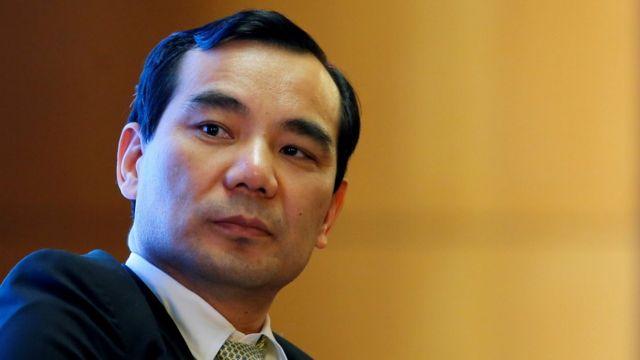 Wu Xiaohui, director ejecutivo de Anbang