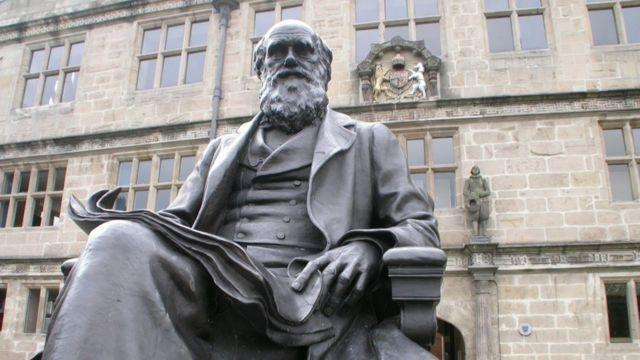 """Charles Darwin, naturista ingles y autor de """"El origen de las especies"""" y """"El origen del hombre""""."""