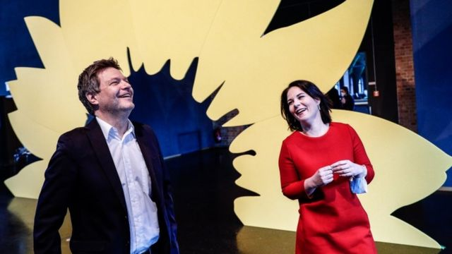 Robert Habeck and Annalena Baerbock