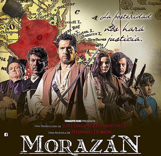 """Cartel de la película """"Morazán""""."""